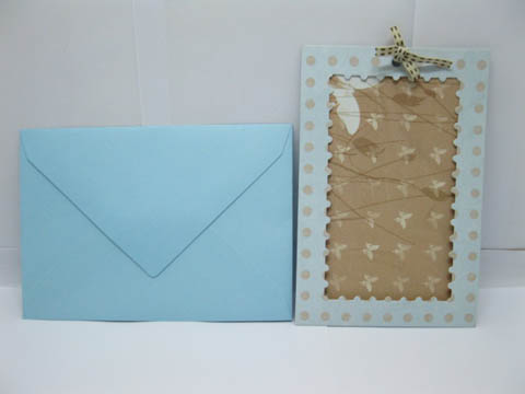 5Packs X 20Sets Blue Personlised Wedding Party Invitation