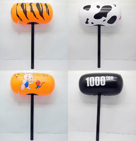 10X New Inflatable Hammer Kids Blow-up Toys