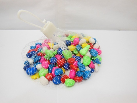 25000 Man-Made Candy Color Stones Mixed Color
