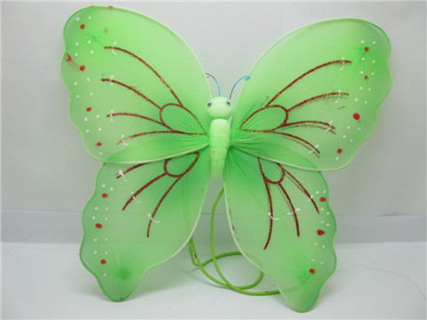 1X New Green Butterfly Fairy Wings Dress-up