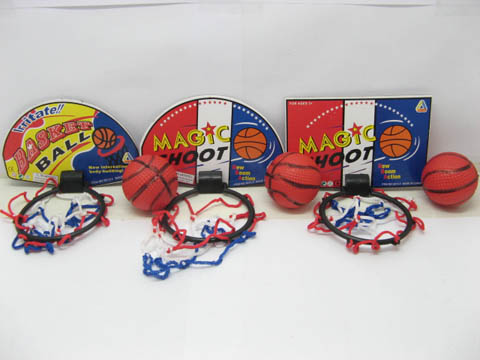 12 Sets Magic Shoot Basketball Game Kit for Kid
