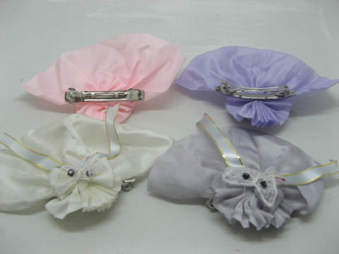 60 Cute Bowknot Barrette for Girls Mixed Color