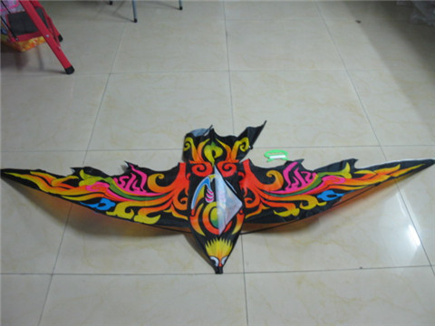 5Pc Colorful Swallow Kite W/ Reel Lines Outdoor Toy