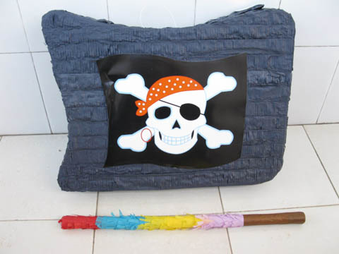 1Set New Pirates Pinata with Stick Party Favor