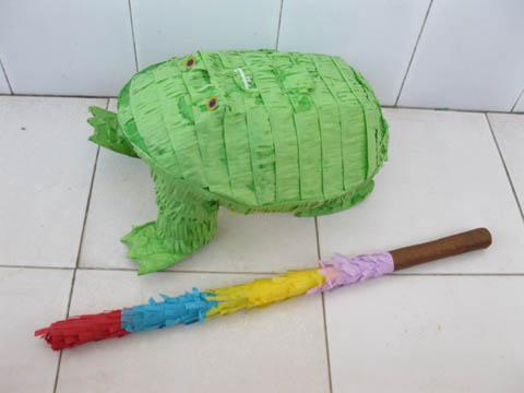 1Set New Frog Pinata with Stick Party Favor