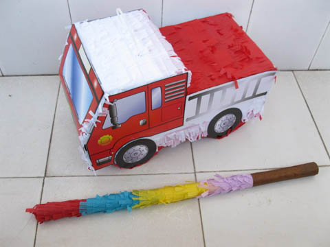 1Set New Truck Pinata with Stick Party Favor