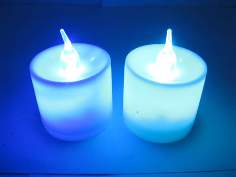 24X Battery Operated Colorful LED Tea Light Candle