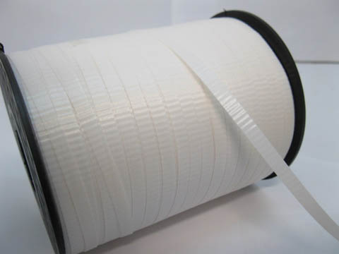 500Yards White Gift Wrap Curling Ribbon Spool 5mm