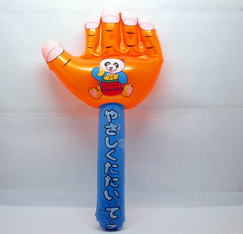 10 Cute Inflatable Hand Hammer Blow-up Toys
