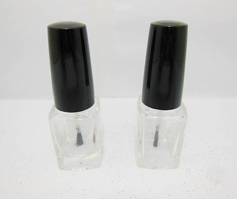 192 Sets Clear Empty Glass Nail Polish Bottle 4ml