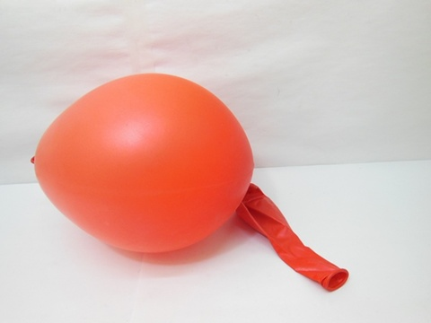 100 Pearl Red Natural Latex Balloons 30cm