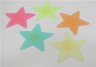 12Sheet x 12Pcs Glow in Dark Stars Mixed Color