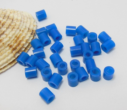 4200Pcs (250g) Craft Hama Beads Pearler Beads 5mm - Blue