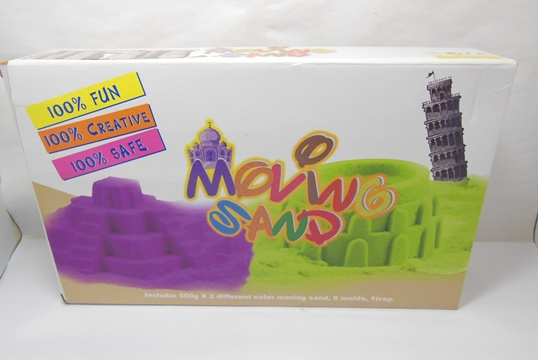 1Kilo Magic Kinetic Sand for Craft with 6 Tools