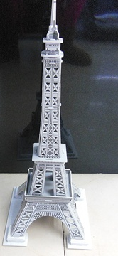 4Pcs 3D Foam Eiffel Tower Model Puzzle DIY Educational Toy