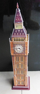 4Pcs 3D Big Ben Tower Model Puzzle DIY Educational Toy