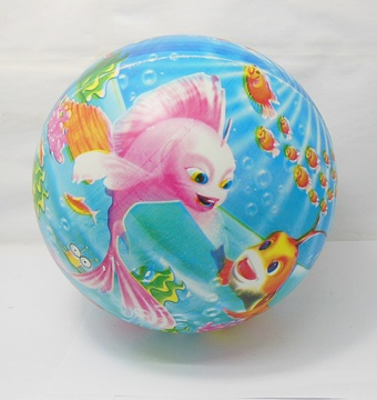 10 Inflatable Little Carp Bouncing Balls 22cm Dia.