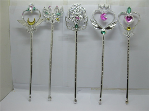 12 Beautiful Fairy Stick Princess Costume Accessory Kids Toy