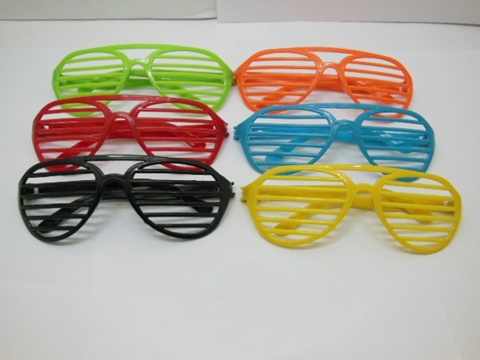24 Funny Glasses Shutter Shades Sunglasses toy-p869