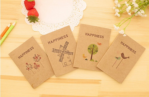 20 Blank Message Note Memo Pad Notebook Mixed