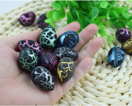 60 Growing Pet Hatching Dinosaur Egg 3x2cm Assorted