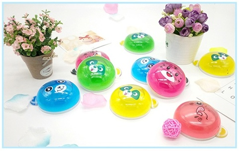 12 Crystal Slime Colorful Clay Mud Transparent Slime Plasticine