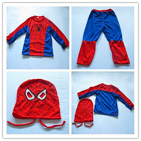 1Set Party Cosplay Spiderman Costume Medium SIZE
