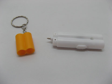 900 Plastic Cigarette Pen Torch Key Rings kr-p107