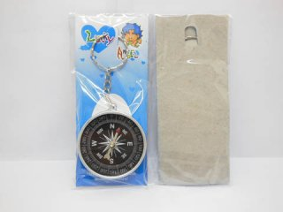 60X New Plastic Compass Key Rings Wholesale