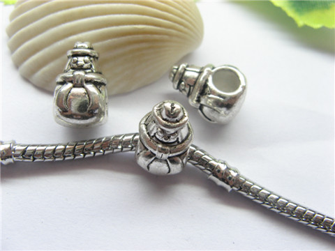 100 Alloy Doll Pandora beads pa-b22