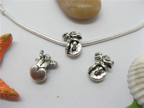 50 Alloy Angel Pandora beads pa-b8