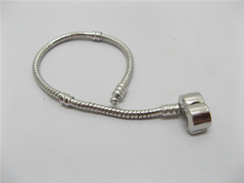 1X European Bracelets Charms Bead Length 22cm