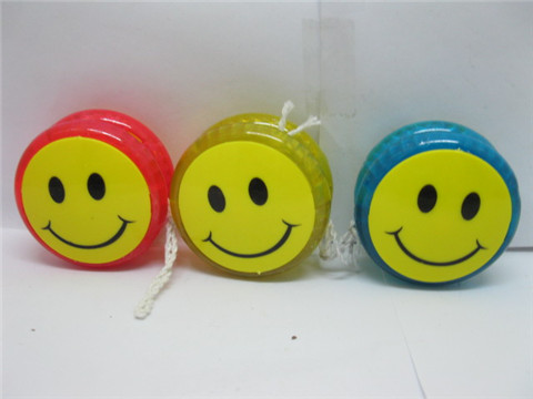 24 New Smile Face Flashing YoYos String Packet Mixed