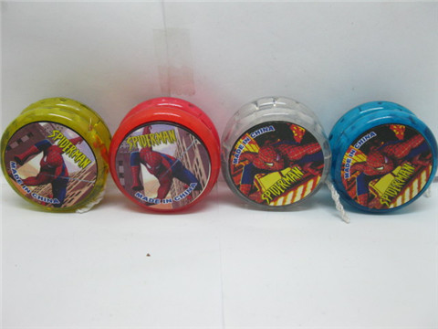 24 New Spider Man Flashing YoYos String Packet Mixed