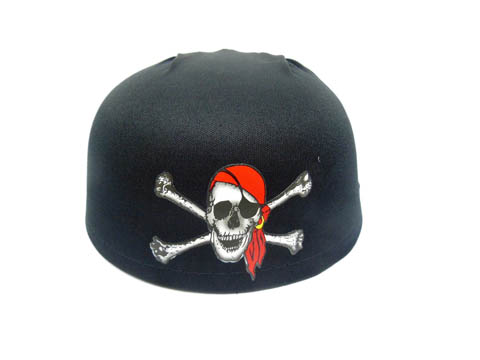 10 Pirate Hat Red Skull Caps Dress Costume