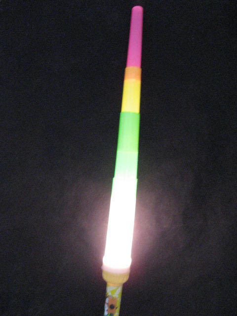 100 Plastic Glow Light Sticks for Disco Party