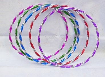10 New Colorful Hula Hoops Exercise Sports Hoop 45cm