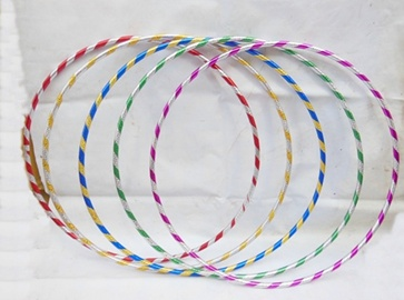 10 New Colorful Hula Hoops Exercise Sports Hoop 75cm