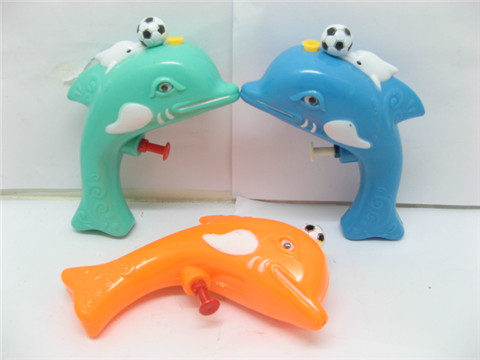 10 Dolphin Water Gun Toys for Kids Mixed Colour