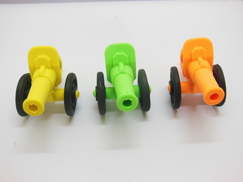 36Pcs New Detachable Novelty Erasers Cannon Shaped Mixed
